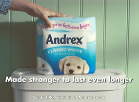 Andrex Rollaphobia / James Howarth